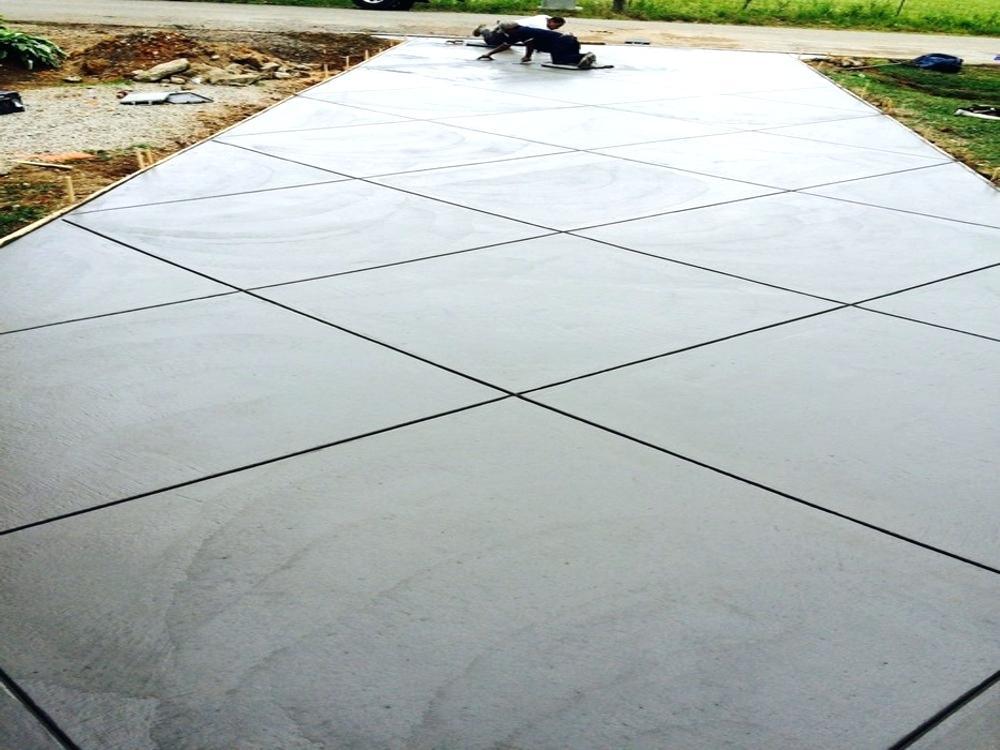 concrete driveway 1